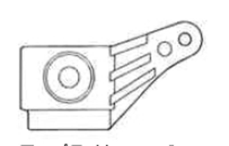 Lenkhebel für XC, TA-02, TA-03, FF-01, XC-Chassis