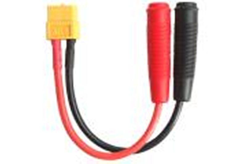 Adapter kompatibel mit XT60 Buchse <=> Ø4,0mm Bananenbuchse