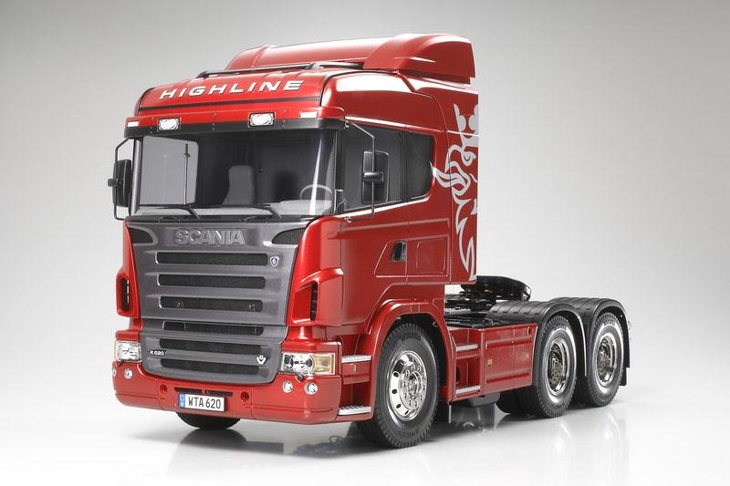 Scania R620 3-Achs 6x4 Truck RC Bausatz 1:14