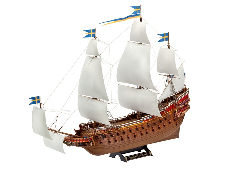 Swedish Regal Ship VASA 1:150