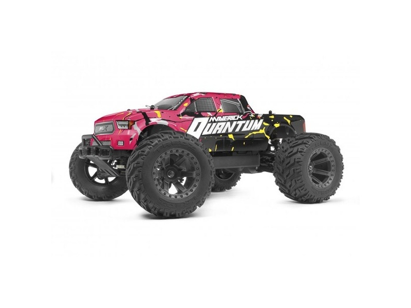 Quantum MT 1/10 4WD Monster Truck RTR mit Akku, Lader - pink