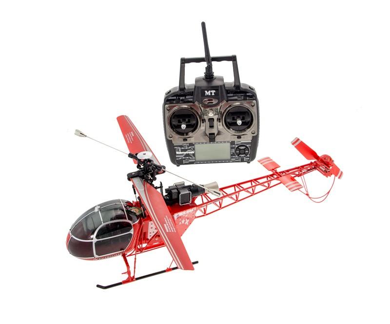 R/C Seeker Lama Luftrettung Helicopter RTF