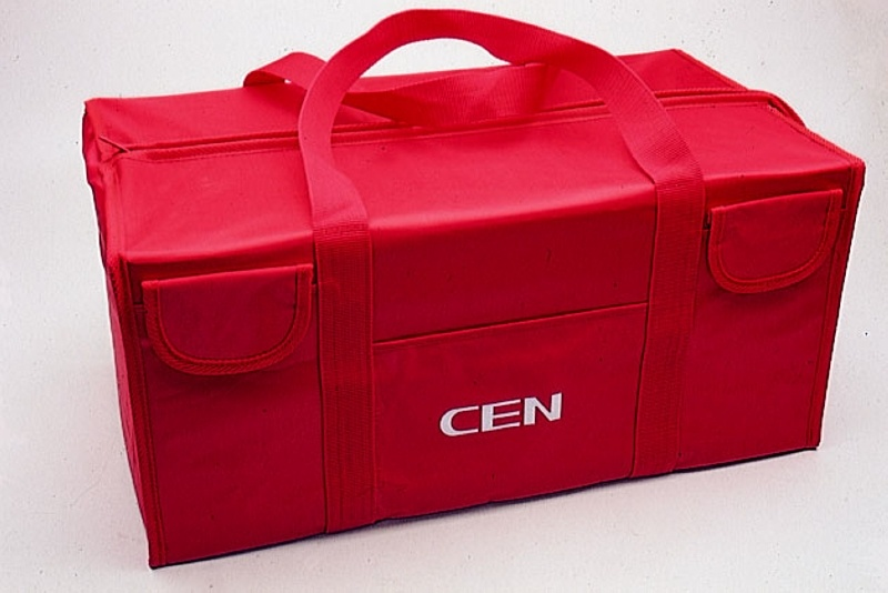 Transporttasche für 1/10 Fahrzeuge und 1/8 Buggy, rot