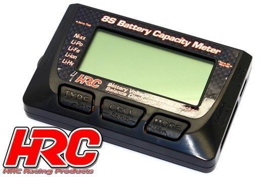 Batterie Prüfer - 1-8S - Checker & Balancer & Servo Tester