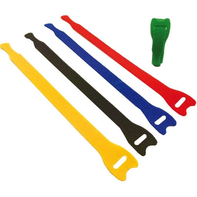 Klettgurt / Klettbänder 200mm farbig sortiert (5)