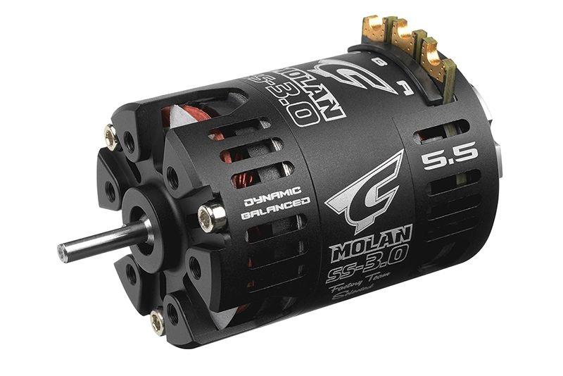 Molan SS-3.0 Competition Brushless Motor 5,5T - 6550KV 1/10