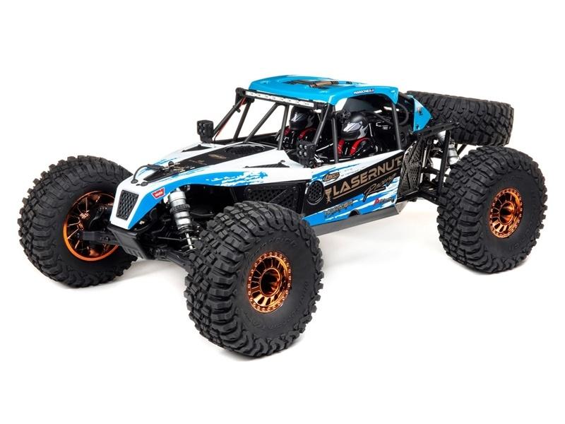 Lasernut U4 1/10 Scale 4WD Brushless Rock Racer RTR blau