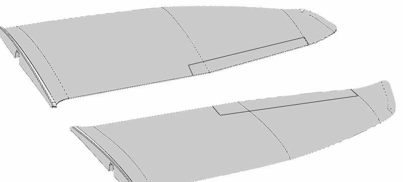 Tragflächensatz für FunGlider