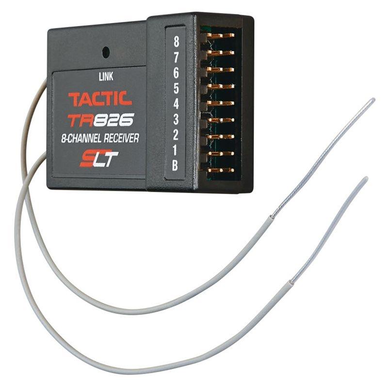 TR-826 - 8-Kanal Empfänger - SLT 2.4GHz - Doppelte Antenne