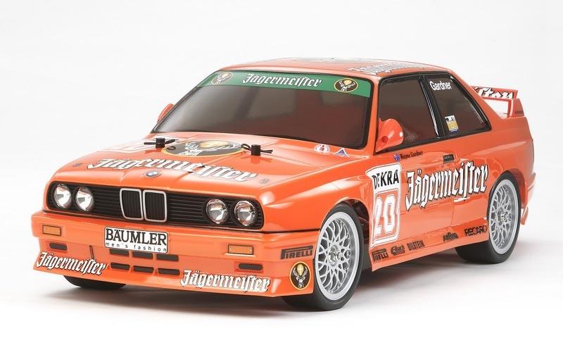 BMW M3 Sport Evo Jägermeister TT-01E Kit mit Regler