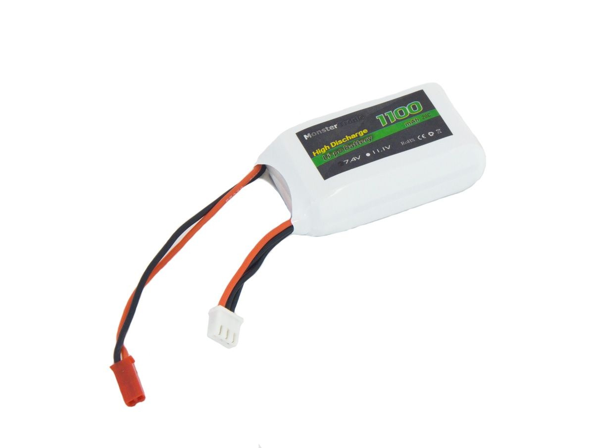 Monstertronic Lipo 7,4V/1100mAh 20C