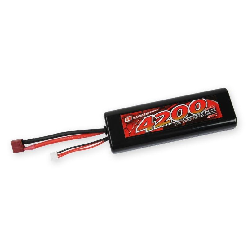 Lipo Akku Stick Pack 4200mAh 2S 40C T-Stecker
