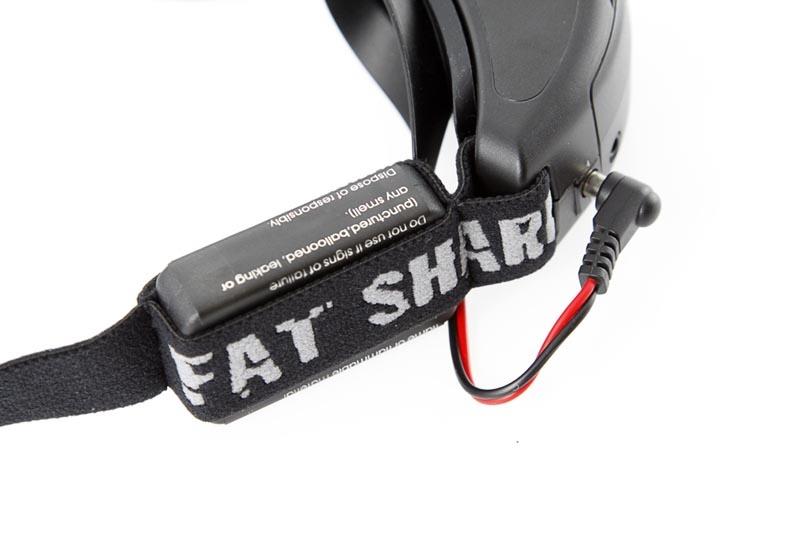 Akku für Fatshark Videobrillen 1000mAh (Lipo)