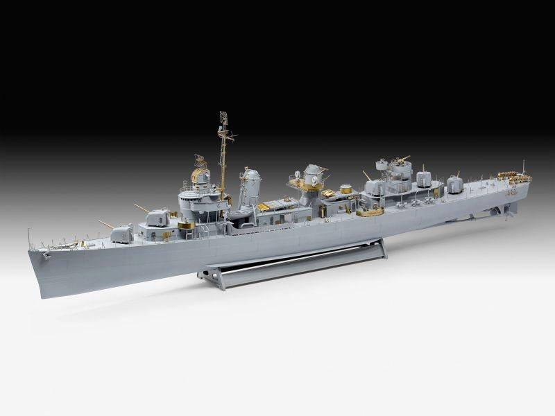 Fletcher Class Destroyer PLATINUM Zerstörer 1:144
