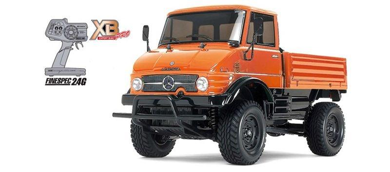 XB Unimog 406 1:10 RTR CC-01 aufgebaut 4WD/2,4GHZ Steuerung
