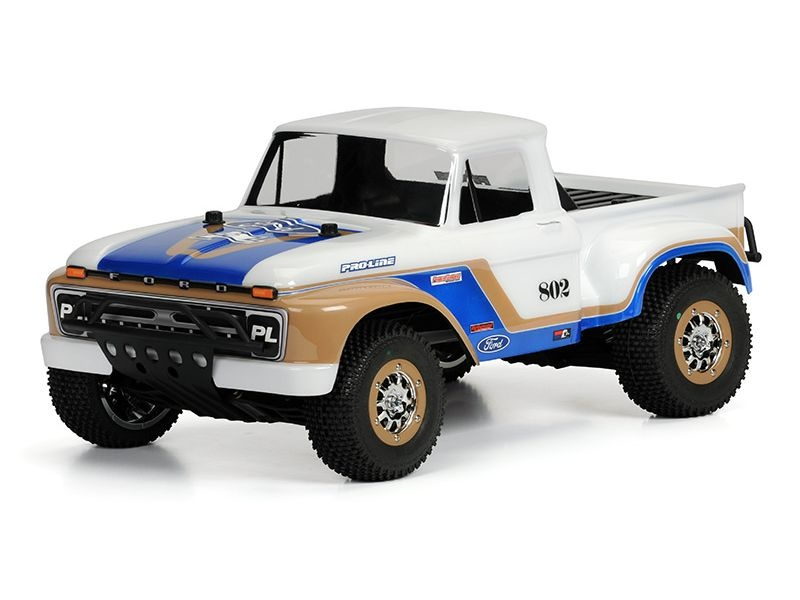 1966 Ford F-100 Karosserie klar für TRX Slash 2+4WD