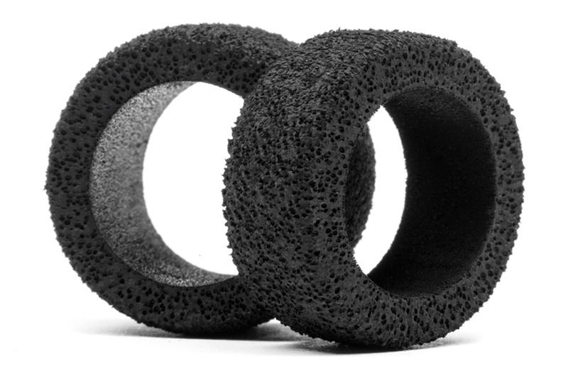 Moosgummi Reifen Set hart (4St) Q32