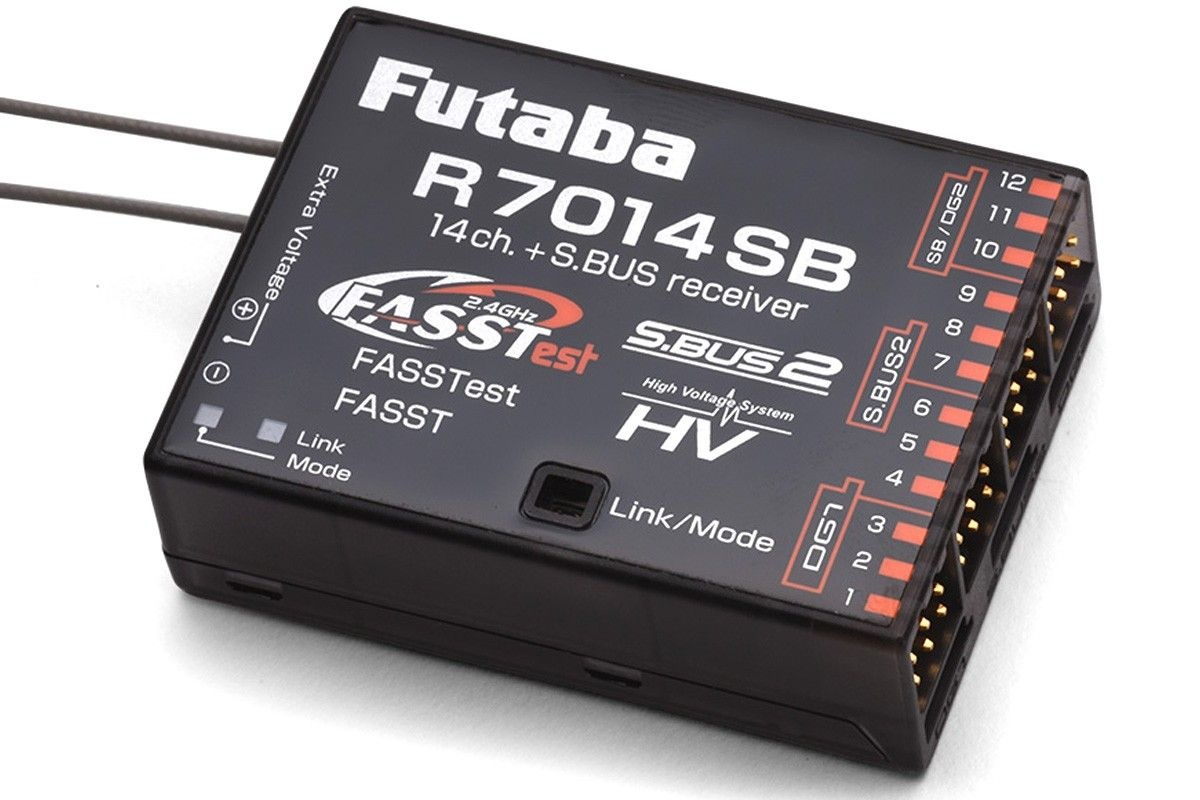 R7014SB 2,4 GHz FASST/FASSTest Empfänger, 14 Kanal
