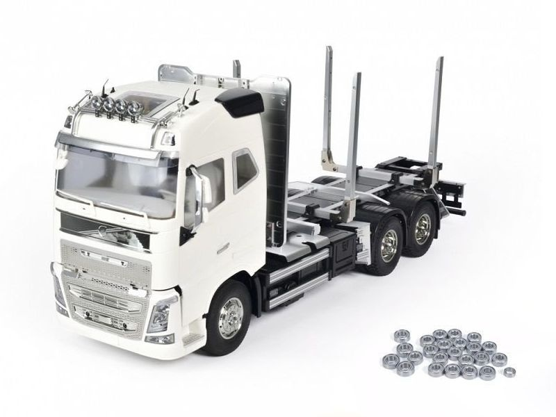 Volvo FH16 Globetrotter 750 6x4 Timber Truck 1:14 + Lager