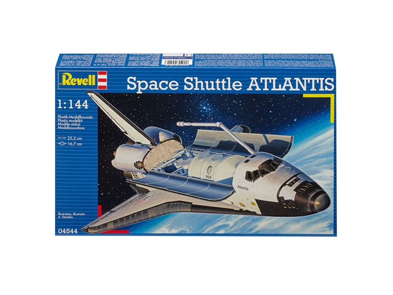 Space Shuttle Atlantis 1:144