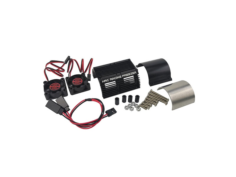 Motorkühlkörper mit Lüfter für 1/8 Motor mit 40-42mm