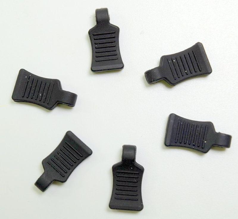 Gummi Splint - Grip, schwarz (6)