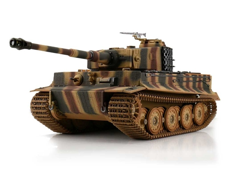 RC Panzer 1:16 Tiger I Späte Ausf. tarn IR Battlesystem RTR