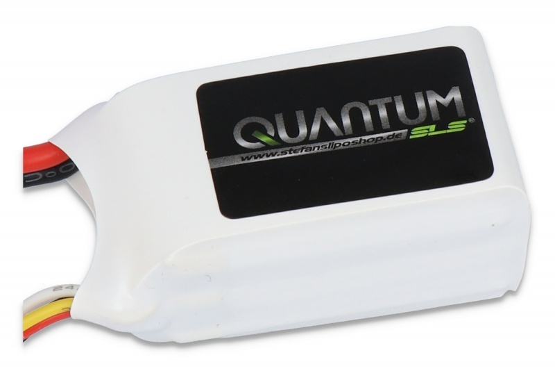 Quantum LiPo Akku 3S1P 800mAh 11,1V 40C/80C, XT60