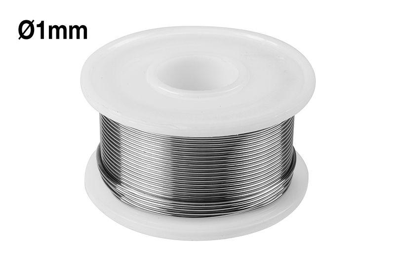 Lötzinn 1mm Durchmesser, 100g