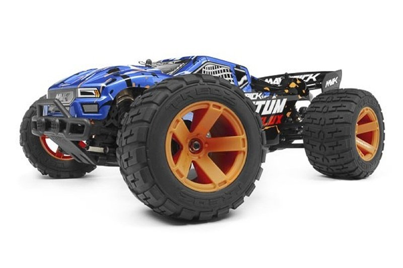 Quantum XT Flux 80A 1/10 4WD Brushless Stadium Truck, blau