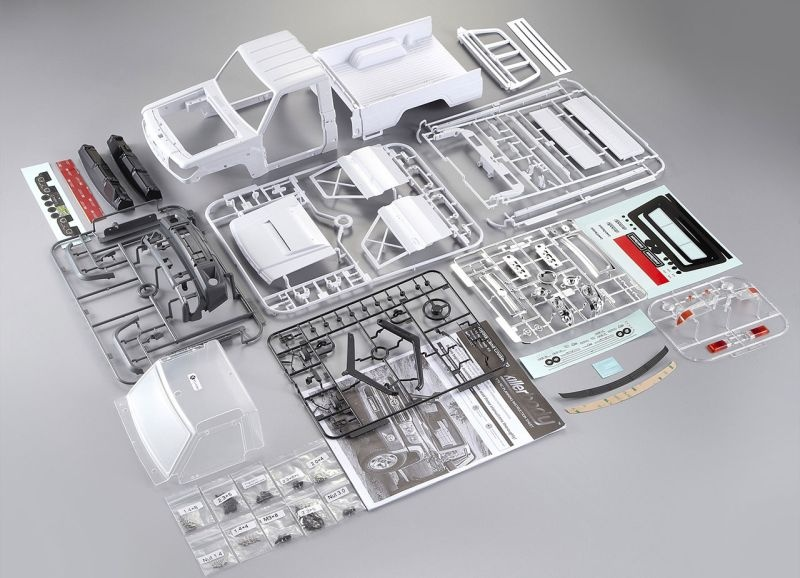 Toyota Land Cruiser 70 1/10 KarosserieABS-Kunststoff Kit