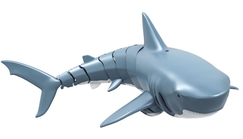 Sharky - der blaue Hai, 4-Kanal 2,4GHz RTR mit LiPo Akku