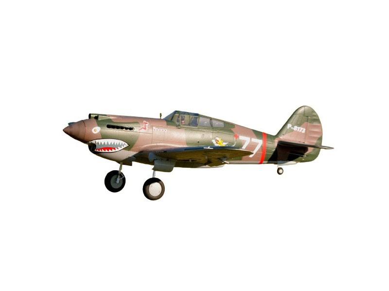 P-40B Curtiss Warhawk Flying Tiger PNP 140 cm Combo
