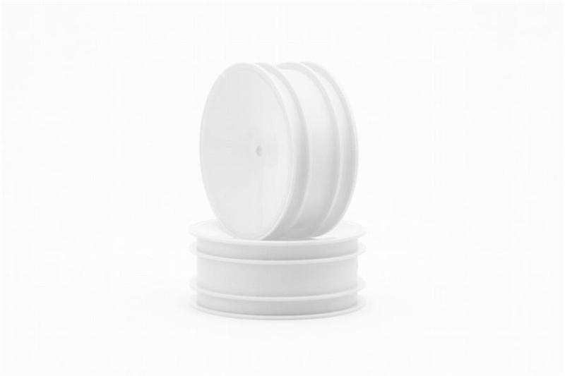 B-MAX2 Front Felgen Dish 1:10 12mm Hex, weiß (2 Stück)