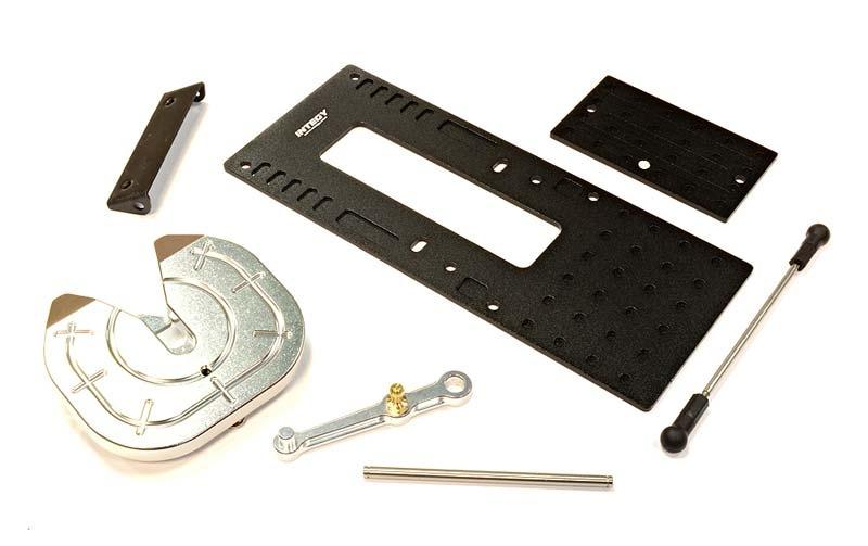 CNC Auflieger-Kupplung Set für Custom 1/14 Truck