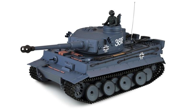 Tiger I 1:16 Panzer Professional Line II IR/BB, 2,4GHz RTR
