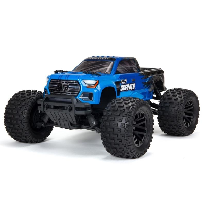 Granite 4x4 MEGA Brushed 4WD Monster Truck 1/10 RTR, blau