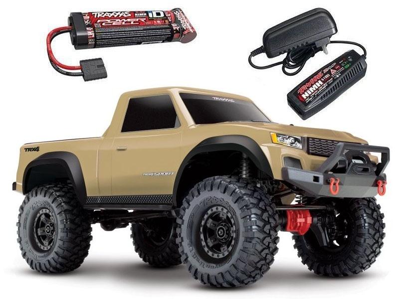 TRX-4 Sport - 1/10 Scale Crawler Tan/Sand + Akku + Ladegerät