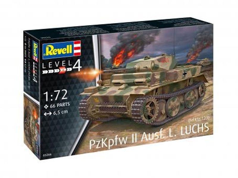 Panzerkampfwagen II Ausf. L.Luchs Plastik Bausatz 1:72