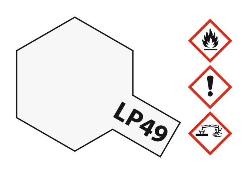 LP-49 Perleffekt klar glänzend Kunstharzfarbe 10ml