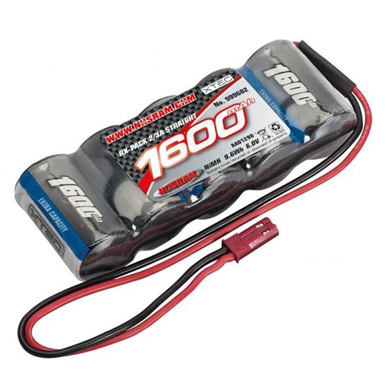 XTEC RX Stick-Pack 2/3A NiMH - JR - 6.0V - 1600mAh