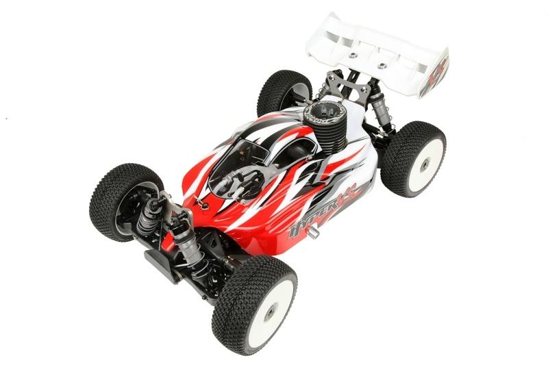 Hyper VS Nitro Buggy 30 1/8 RTR mit roter Karosserie