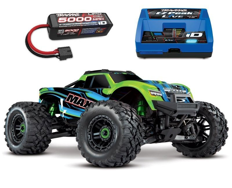 Maxx 4S 1:10 4WD Monster Truck Brushless TQi 90+ km/h, grün