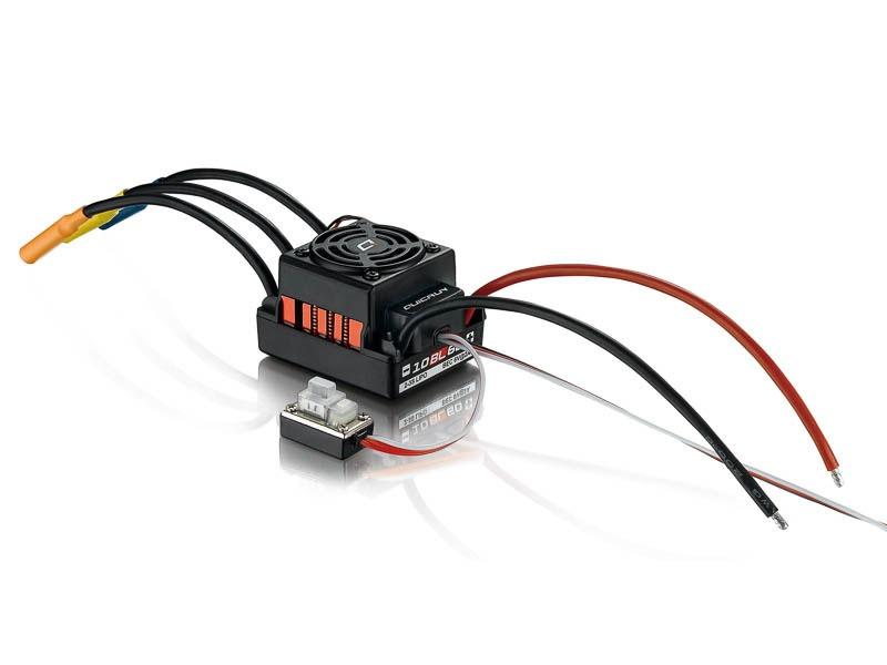 QuicRun Regler WP10BL60 Brushless 60A Sensorless 1/10
