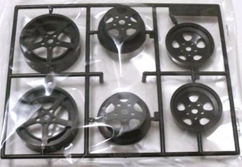 D-Teile (Felgen) 1/12 für XR311 (58004), 2 Stück