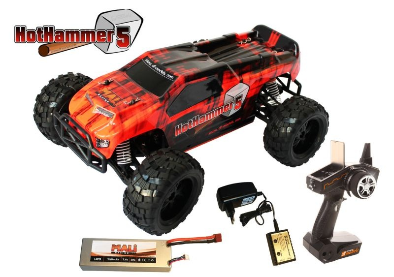 HotHammer 5 Monster Truck 4WD Brushless 1/10 XL 100% RTR