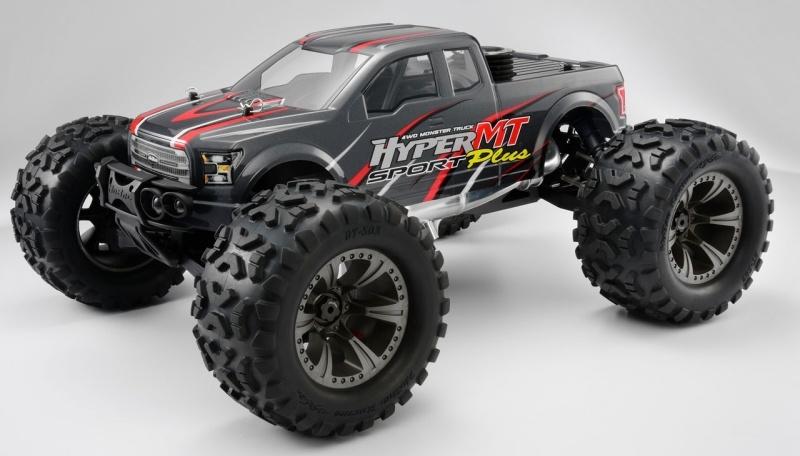 Hyper MT Sport Plus 1/8 4.9ccm Nitro Monster Truck RTR grau