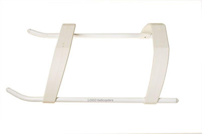 Landegestell LOW PROFILE, weiß, LOGO 600/690