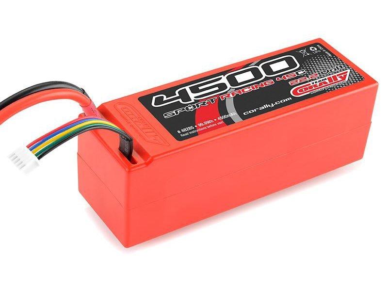 Lipo Hardcase 45C 4500mAh 22,2V 6S mit T-Stecker