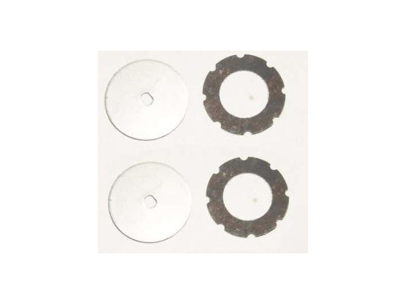 Slipper Gear Plates& Fibre Pads